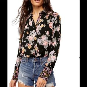 Free People Hold onto me blouse